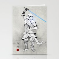 Samurai Trooper Stationery Cards
