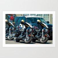 The Enforcer's  Art Print