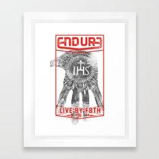 ENDURE IHS Framed Art Print
