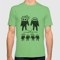 Genetics Mens Fitted Tee Grass SMALL