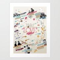 LOVE 365 Calendar Art Print