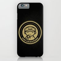 iPhone & iPod Case featuring Chibi Kimi Raikkonen - Lotus F1 Team by mydeardear