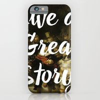LIVE A GREAT STORY iPhone 6 Slim Case