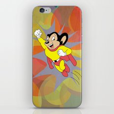 Mighty Mouse - Circles iPhone & iPod Skin