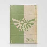 Legend of Zelda: Triforce Stationery Cards