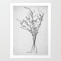 Les Fleurs III Art Print