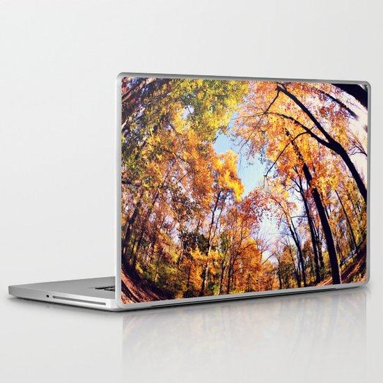 Fisheye Fall  Laptop & iPad Skin