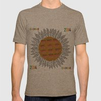 Calendar 2014 - Sunflowe… Mens Fitted Tee Tri-Coffee SMALL