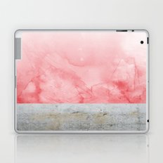 Concrete and Pink Laptop & iPad Skin