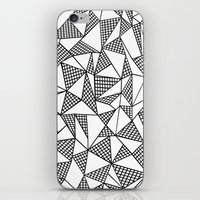 Abstraction Partial Grid iPhone & iPod Skin