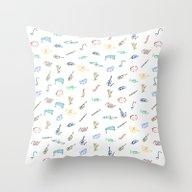 Freedom Orchestra Throw Pillow
