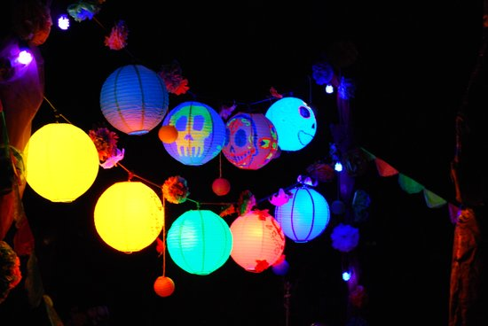 Lanterns of the Underworld Art Print