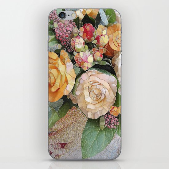 Vintage Roses iPhone & iPod Skin