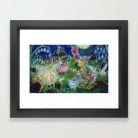 Fairy Ball Framed Art Print
