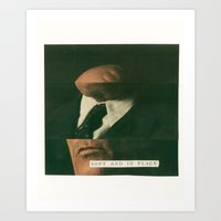 soft and in place Art Print