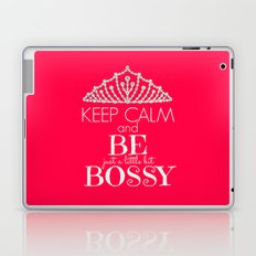 Keep Calm and Be Bossy Laptop & iPad Skin