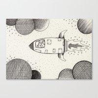 Spacerat´s Adventures Canvas Print