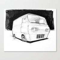 Econoline Canvas Print