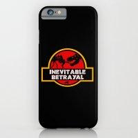 iPhone & iPod Case featuring Jurassic Betrayal by Perdita