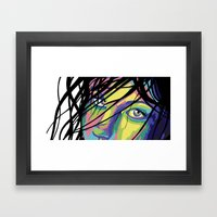 Swetha Framed Art Print