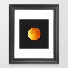 Moongold Framed Art Print