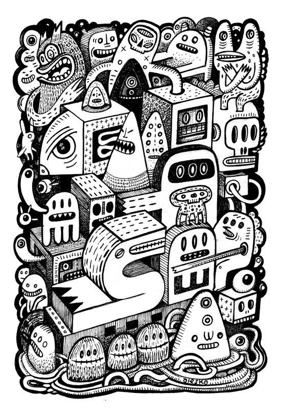 l'Arche Canvas Print