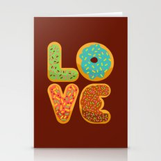 LOVE DONUTS  Stationery Cards