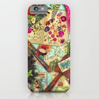 iPhone & iPod Case featuring A Vintage Garden by Aimee Stewart