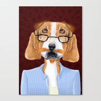 Mr. Retired Canvas Print