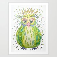 Forest's Owl Art Print