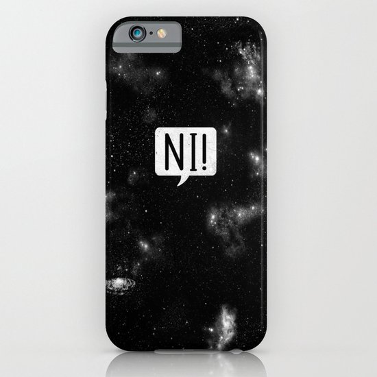The Night Who Says Ni iPhone & iPod Case