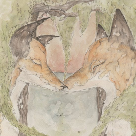 Fox [[ 3 ]] Art Print