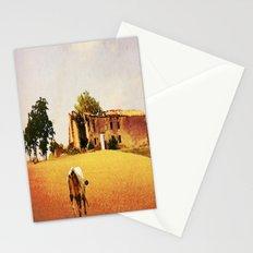Soft light derrier Stationery Cards
