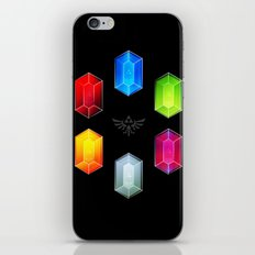Zelda Just Want Them Rupees iPhone & iPod Skin