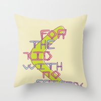 Boomerang Throw Pillow