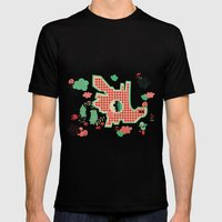 Dragon Playground Of Sin… Mens Fitted Tee Black SMALL