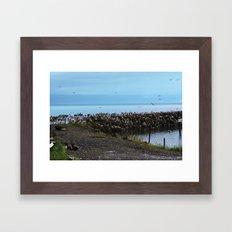 Point of the Seagull Framed Art Print