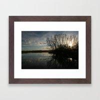 Sunset Dynamite  Framed Art Print