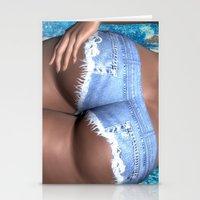 Short Shorts Stationery Cards