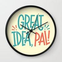 Great Idea Wall Clock