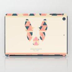 Boston Terrier: Triangles. iPad Case