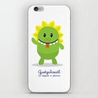 Quetzalcoatl - Le Serpen… iPhone & iPod Skin