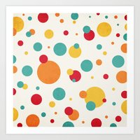 I'm Just A Bit Dotty! Art Print