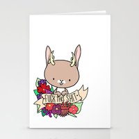 Jackalope, EFF THIS SH*T Stationery Cards