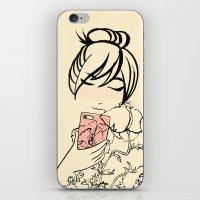 Smartphone Girl 2 iPhone & iPod Skin