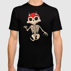 SkeleTony Mens Fitted Tee SMALL Black
