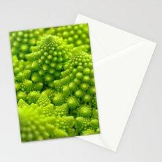 Macro Romanesco Broccoli Stationery Cards