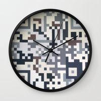 Number Five Multicolour  Wall Clock