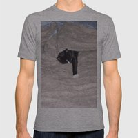 Snoozysleepy Mens Fitted Tee Athletic Grey SMALL