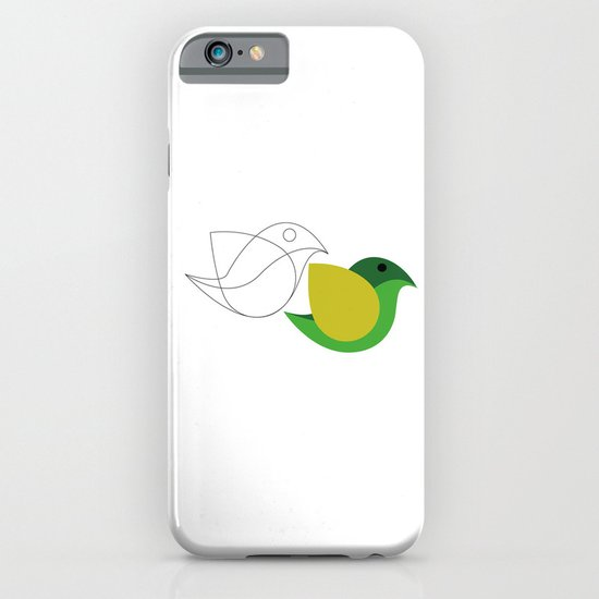 Bird is the word iPhone & iPod Case